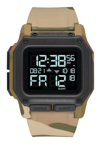 Nixon Regulus Watch - Multicam