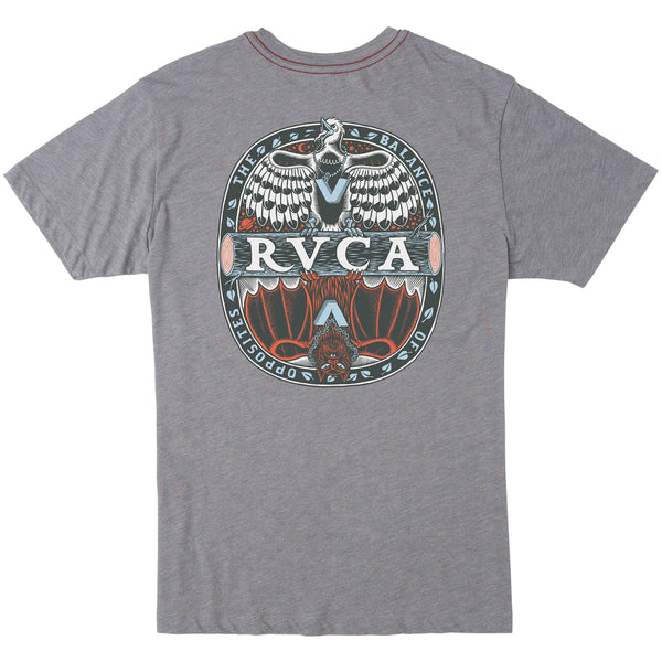 RVCA Opposites SS Tee - NO RETURNS