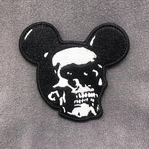 Tactical Outfitters Skull Mickey Morale Patch