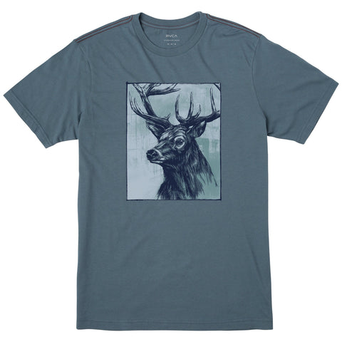 RVCA Highland Stag Tee - NO RETURNS