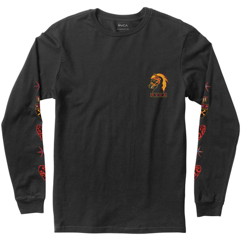 RVCA Strategic Planning Long Sleeve Tee