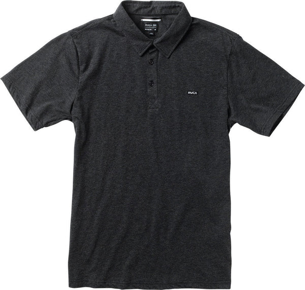 RVCA Sure Thing Polo Shirt RVCA Short Sleeve Shirt - 1