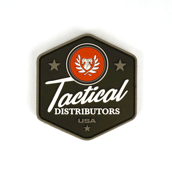 TD Black Label Patch Tactical Distributors Morale Patches - 1