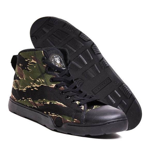 Altama X TD 10 Yr Anniv Tiger Stripe OTB Maritime Assault Mid Shoes