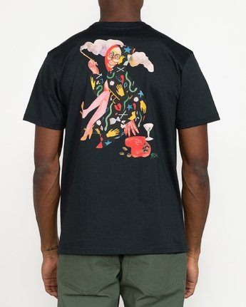 RVCA Gorgeous Hussey Tee Black