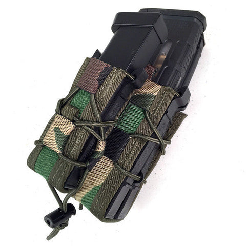 HSGI X2RP Taco - 2 Rifle Mags 1 Pistol Mag High Speed Gear Ammunition Cases & Holders - 8