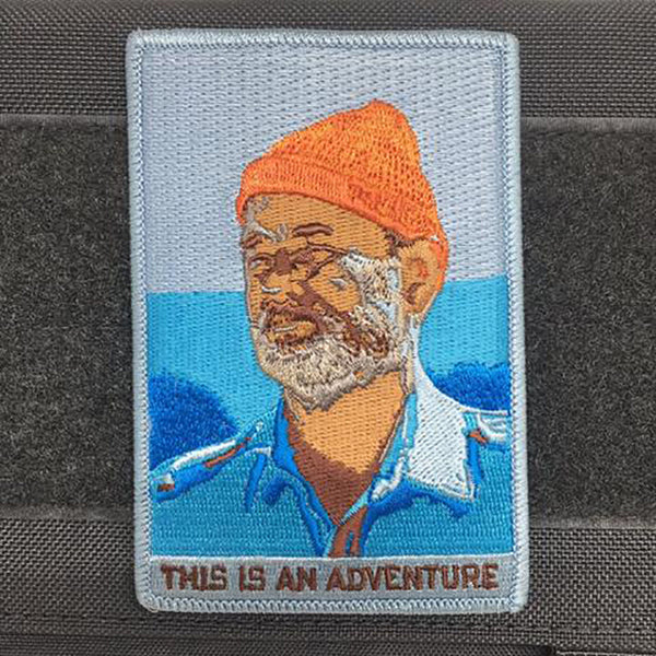 Tactical Outfitters Adrift Venture This is an Adventure Morale Patch