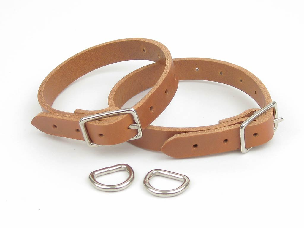 Leather Lashing Strap Set