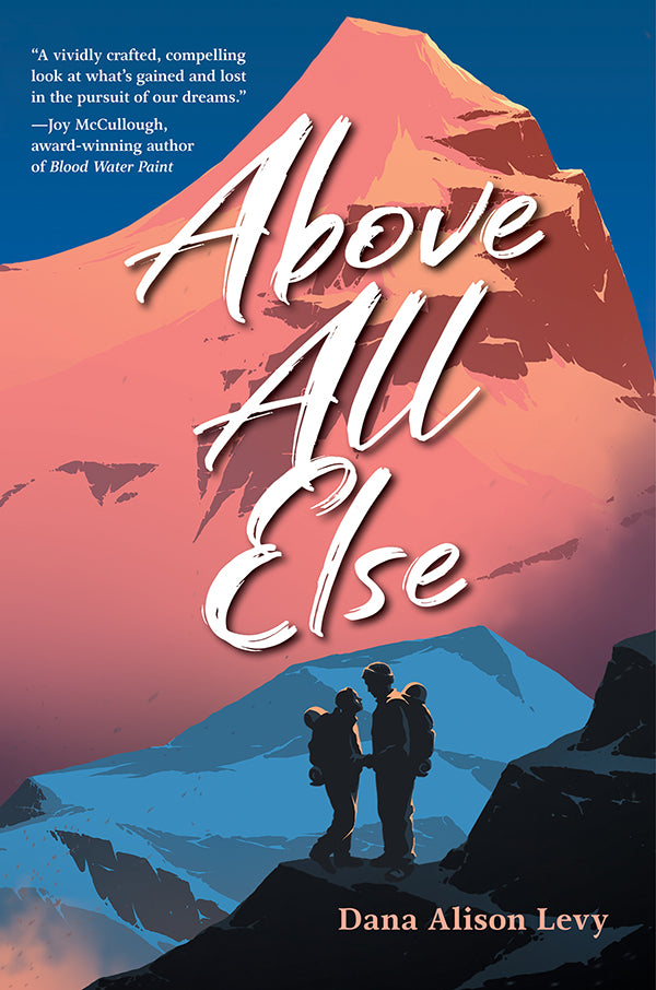 Above All Else book cover