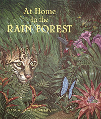 At Home in the Rain Forest book cover