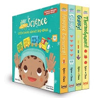 Baby Loves Science Board Boxed Set packaging
