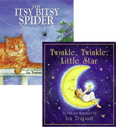 The Itsy Bitsy Spider & Twinkle Twinkle Little Star Bundle book covers
