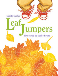 Leaf Jumpers Board Book cover