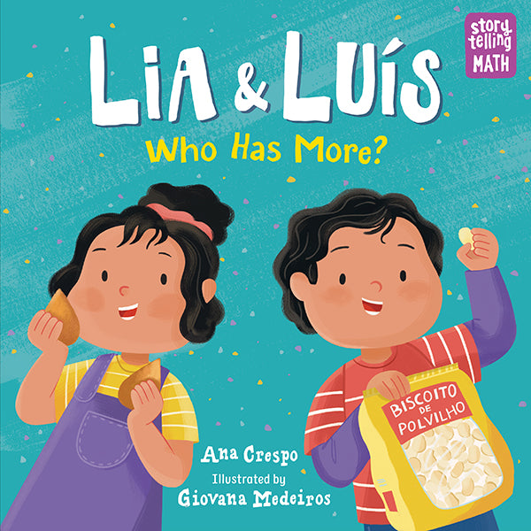 Lia & Luís: Who Has More? book cover