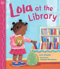 Lola at the Library with Mommy book cover image