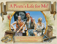 A Pirate's Life for Me! book cover