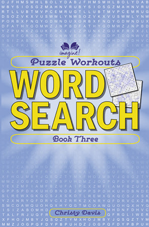 Puzzle Workouts: Word Search (Book Three) book cover