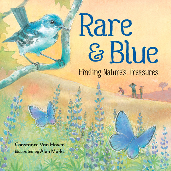 Rare and Blue book cover
