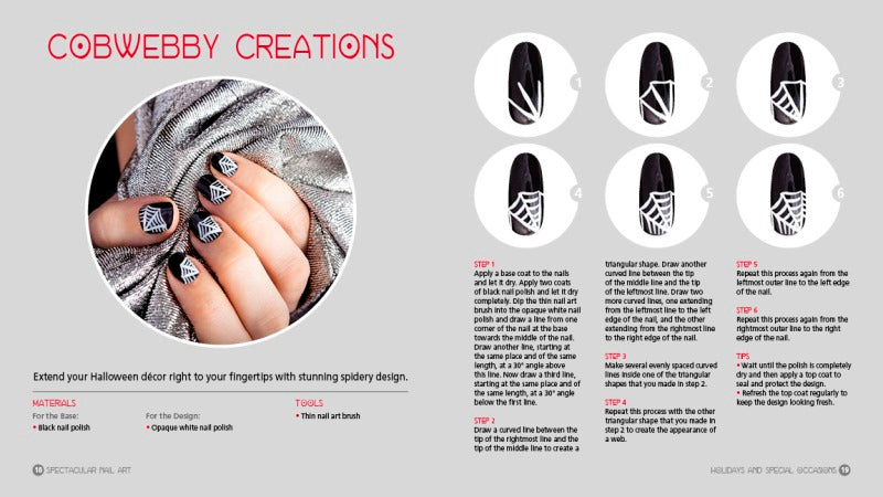 Spectacular Nail Art A Step By Step Guide Charlesbridge