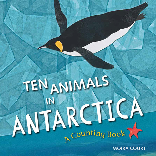 Ten Animals in Antarctica book cover