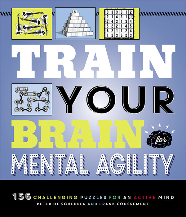 The Train Your Brain Mind Games book cover