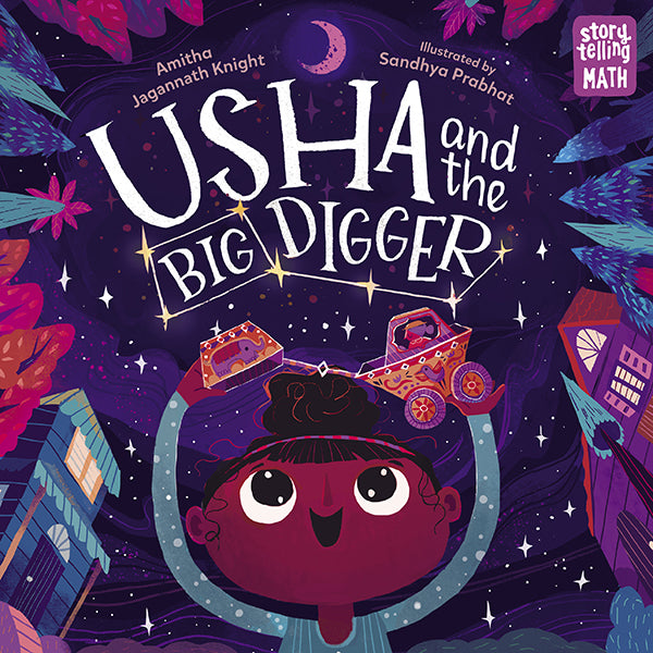 Usha and the Big Digger book cover