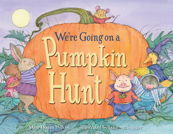 We're Going on a Pumpkin Hunt book cover