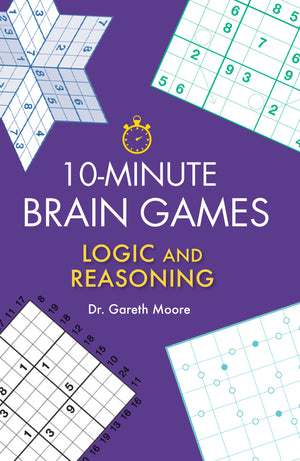 10-Minute Brain Games book cover
