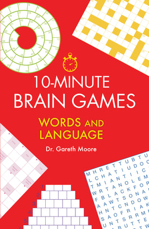 10-Minute Brain Games Words and Language book cover