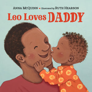 Leo Loves Daddy book cover image