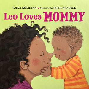 Leo Loves Mommy book cover image