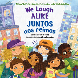We Laugh Alike / Juntos nos reímos book cover image