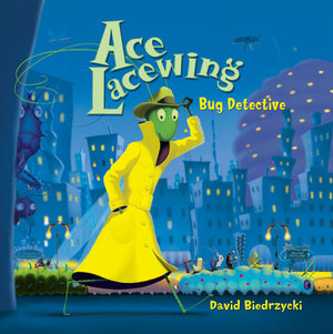 Ace Lacewing, Bug Detective book cover image