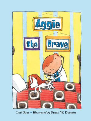 Aggie the Brave book cover image