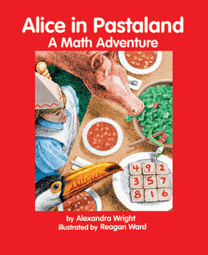 Alice in Pastaland book cover image