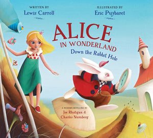 Alice in Wonderland book cover image