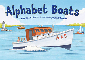 Alphabet Boats book cover image