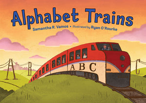 Alphabet Trains book cover image