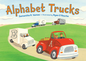 Alphabet Trucks Board Book cover image