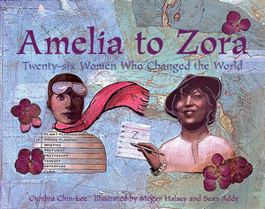 Amelia to Zora book cover image