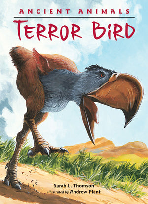 Ancient Animals: Terror Bird book cover image