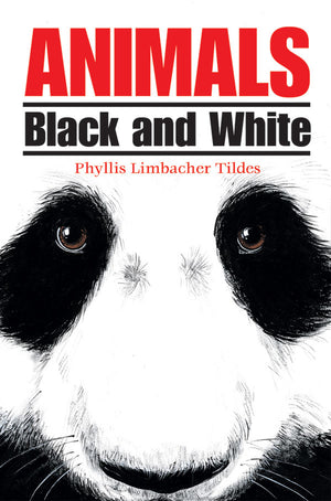 Animals Black and White book cover image