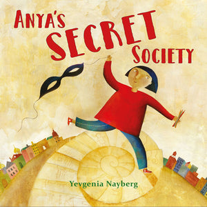 Anya's Secret Society book cover