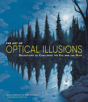 The Art of Optical Illusions book cover image