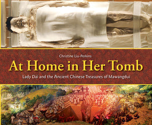 At Home in Her Tomb book cover
