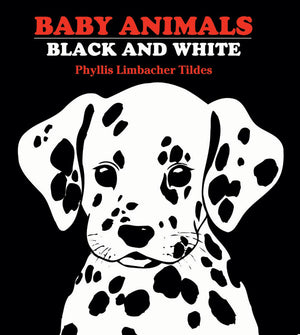 Baby Animals Black and White book cover