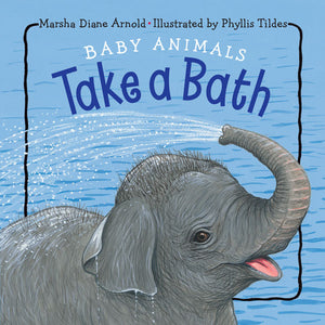 Baby Animals Take a Bath book cover