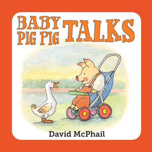 Baby Pig Pig Talks book cover
