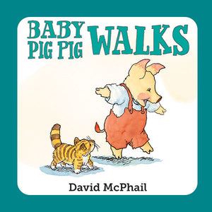 Baby Pig Pig Walks book cover