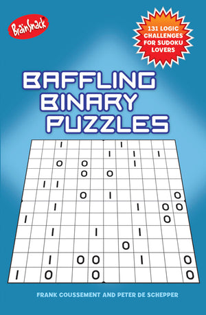 Baffling Binary Puzzles book cover image
